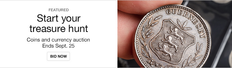 September Coins and Currency Auction
