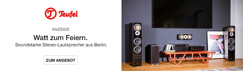 Watt zum Feiern. - Soundstarke Stereo-Lautsprecher aus Berlin