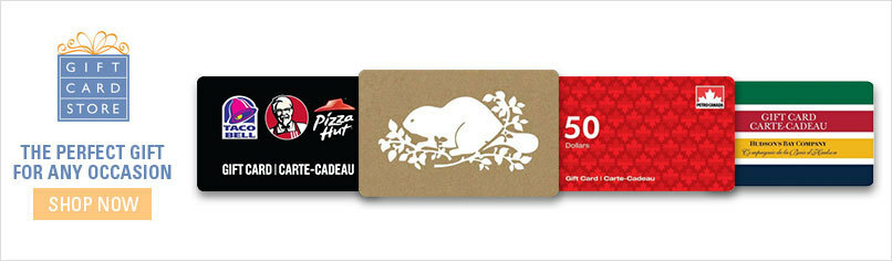 Gift Cards with Free Shipping