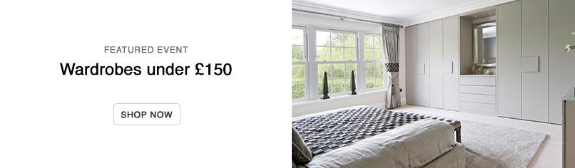 Wardrobes Under £150
