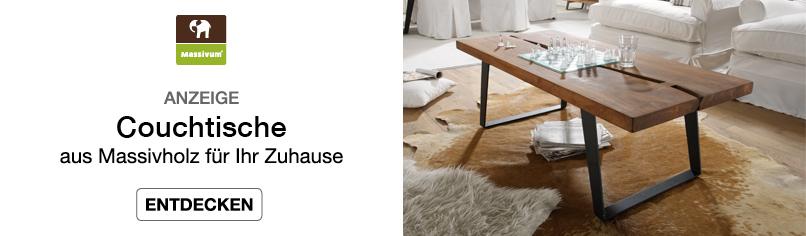 Couchtische. - aus Massivholz für Ihr Zuhause