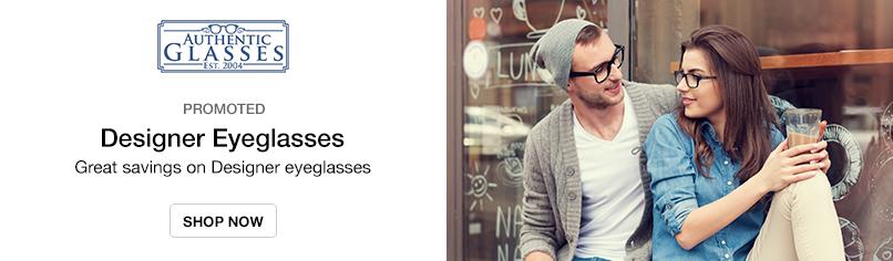 Designer Eyeglasses: Great savings on Designer eyeglasses