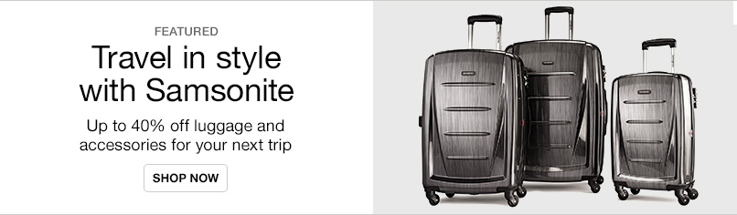 Travel in Style with Samsonite