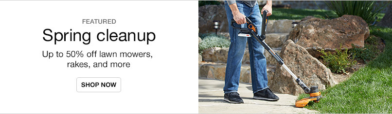 Spring Yard Cleanup - Up to 50% off