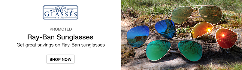 Ray-Ban Sunglasses: Get great savings on Ray-Ban sunglasses