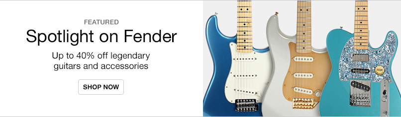 Fender Guitar and Accessories Event