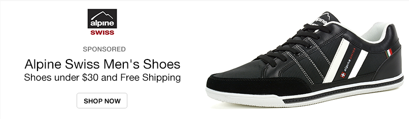 Alpine Swiss Men's Shoes: Shoes under $30 and Free Shipping