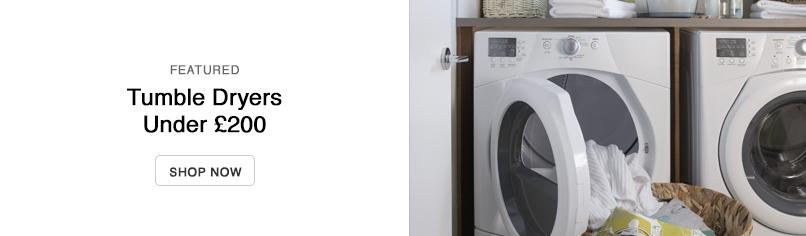 Tumble Dryers Under £200