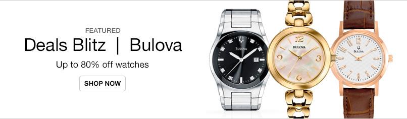 Deals Blitz | Bulova Watches