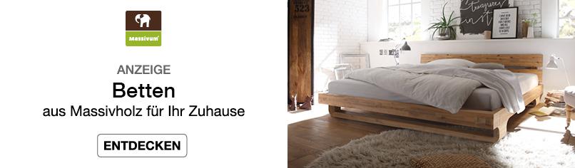 Betten. - aus Massivholz für Ihr Zuhause
