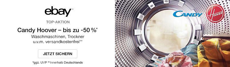 Candy & Hoover Sonderverkauf - bis -50%