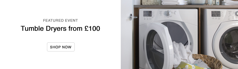 Tumble Dryers from £100