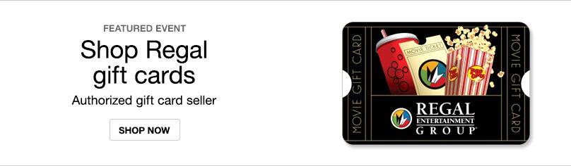 Gift Cards- Regal Cinemas