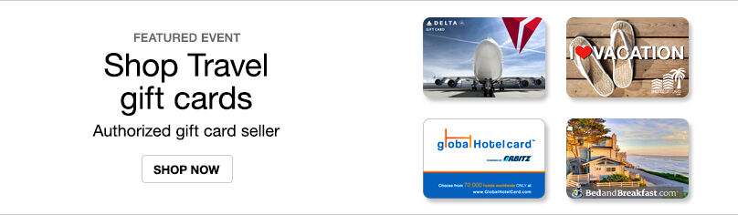 Gift Cards- Travel
