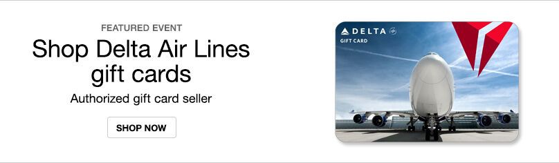 Gift Cards- Delta Airlines