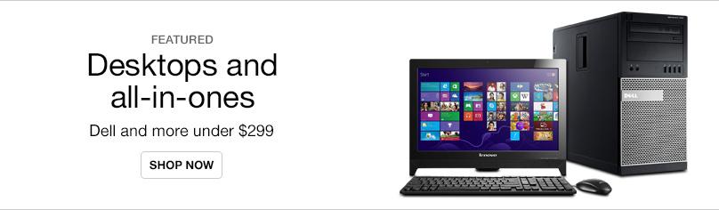 Desktops Under $299