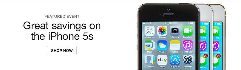 Shop iPhone 5s