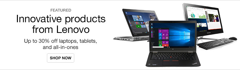 Innovative Products from Lenovo