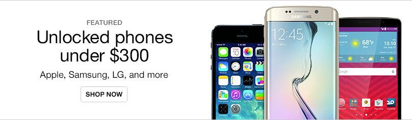 Unlocked Phones Under $300