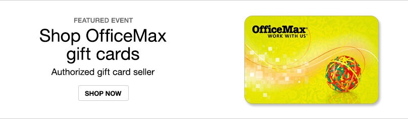 Gift Cards - OfficeMax
