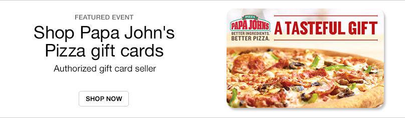 Gift Cards- Papa John's Pizza