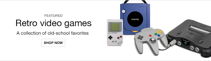 Throwback consoles & games