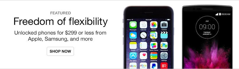 New Unlocked Phones Under $299