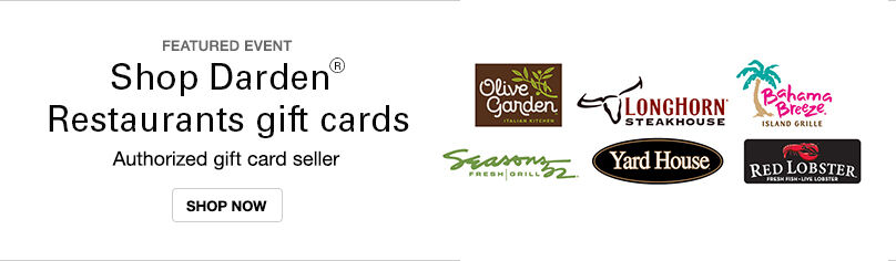 Gift Cards- Darden Choices