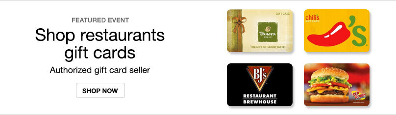 Gift Cards- Restaurants