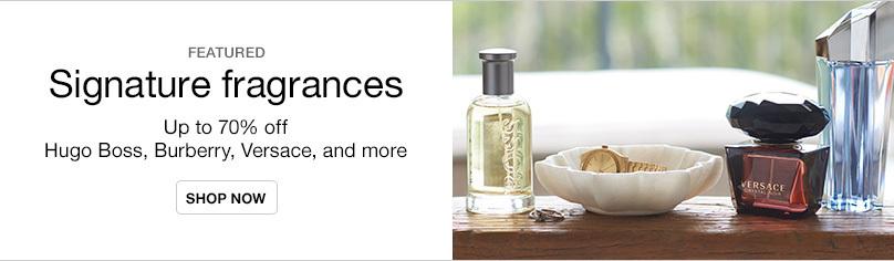 Up to 70% off Designer Fragrances