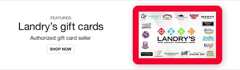 VP_Gift Cards- Landrys Gift Card
