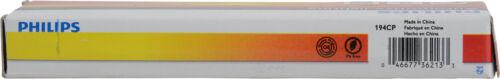 Side Marker Light Bulb Standard   Multiple Commercial Pack Front/Rear PHILIPS