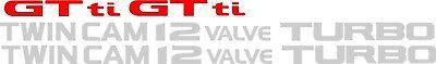 Daihatsu Charade Gtti Twin Cam 12 Valvola Turbo Decalcomanie Adesivi Tianjin segunda mano  Embacar hacia Argentina