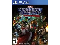 Guadiana of the galaxy ps4 game and set figures to clear £24.99