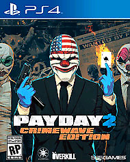 Looking for 2 copies of payday 2 for ps4