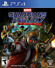 Guardians of the Galaxy Telltale PS4