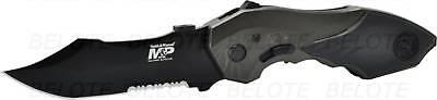 Smith & Wesson M&P 2nd Gen Folder Drop Pt Serr SWMP5LS ()
