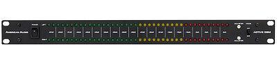"""ADJ 19"""" DB-Levelmeter 1HE Dezibel Level Meter Lautstärke - Anzeige -optisch -XLR"""