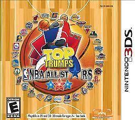 Top Trumps NBA Basketball All Stars Nintendo 3DS NEW factory