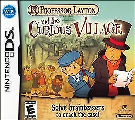 Professor Layton And The Curious Village - Nintendo DS - $8.81