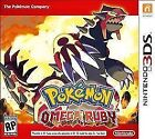 Pokemon Omega Ruby Video Games