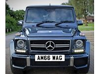 Mercedes Benz AMG G 63 Wagon - Cherished Number Plate Private Registration