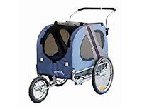 Doggyhut pet bicycle trailer