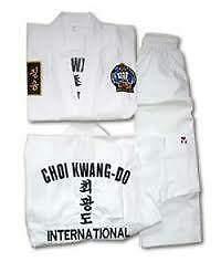 Choi Kwabg Do ( Martial Art) uniform