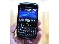 Blackberry 8520 Curve Unlocked Good Condition Charger £10 Unlocked