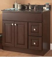 EnjoyHome Beautiful solid wood vanity New Year Promotions!!!