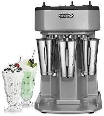 Waring 3 Head Milkshake Machine - STOREY'S Restaurant & Food Equipment Dealers - True - Hobart - Vulcan - Somerset
