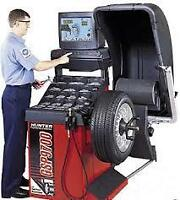Tire Change and Wheel Balancing Starting at $10 at Mission Auto.