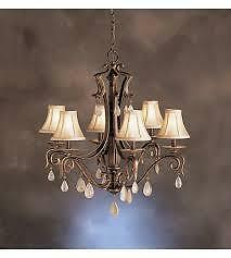 "NEW ""PARIS"" BY KICHLER CHANDELIER"