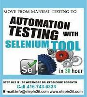 Selenium is the key to your testing job success